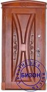 Отделка входной двери Дуб-филенка