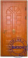 Отделка входной двери Шпон