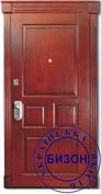 Отделка входной двери Сосна-филенка