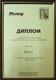 Диплом 2003 г. Награждается  лучший украинский производитель дверей  компания БИЗОН за массовое производство высококачественных металлических дверей